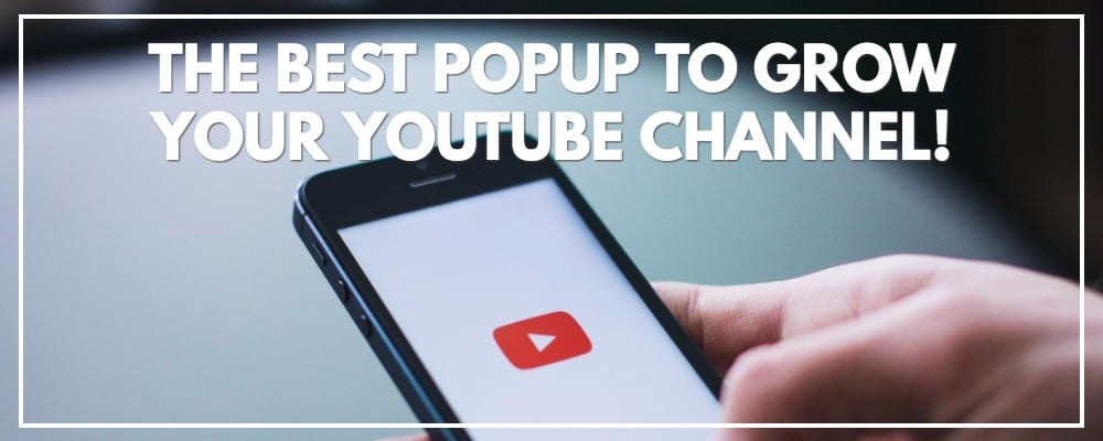 The Best Popup Plugin To Grow Your YouTube Channel | MiloTree.com