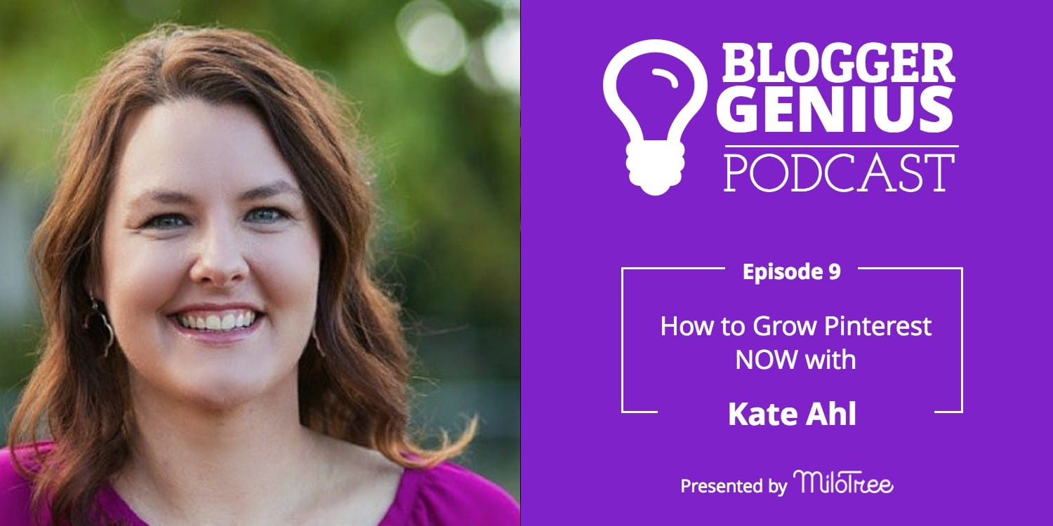 How To Grow Pinterest NOW with Kate Ahl | MiloTree.com