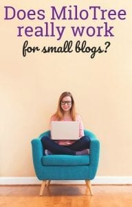 Does MiloTree help if your blog is small? #milotree #socialmedia #blogging
