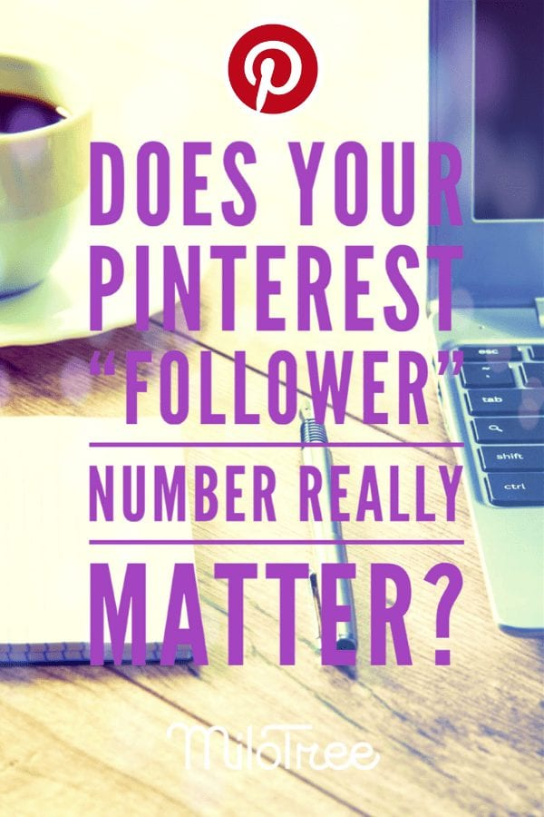 Yes, your Pinterest follower number really matters | MiloTree.com