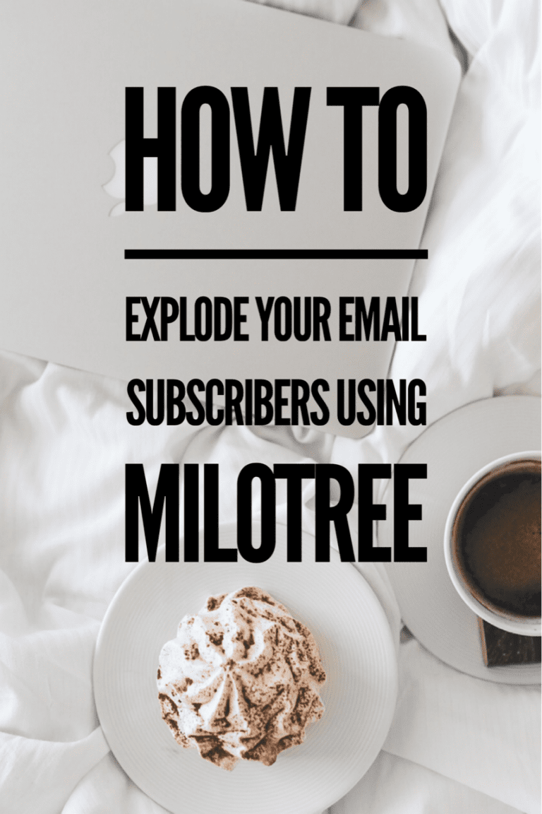 how to explode your email subscribers | MiloTree.com