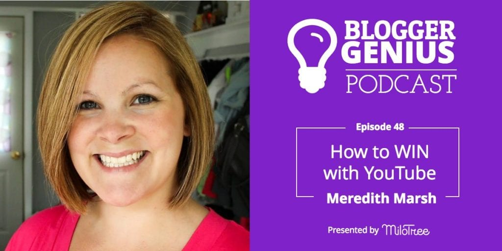 #048: How to WIN with YouTube with Meredith Marsh | MiloTree.com