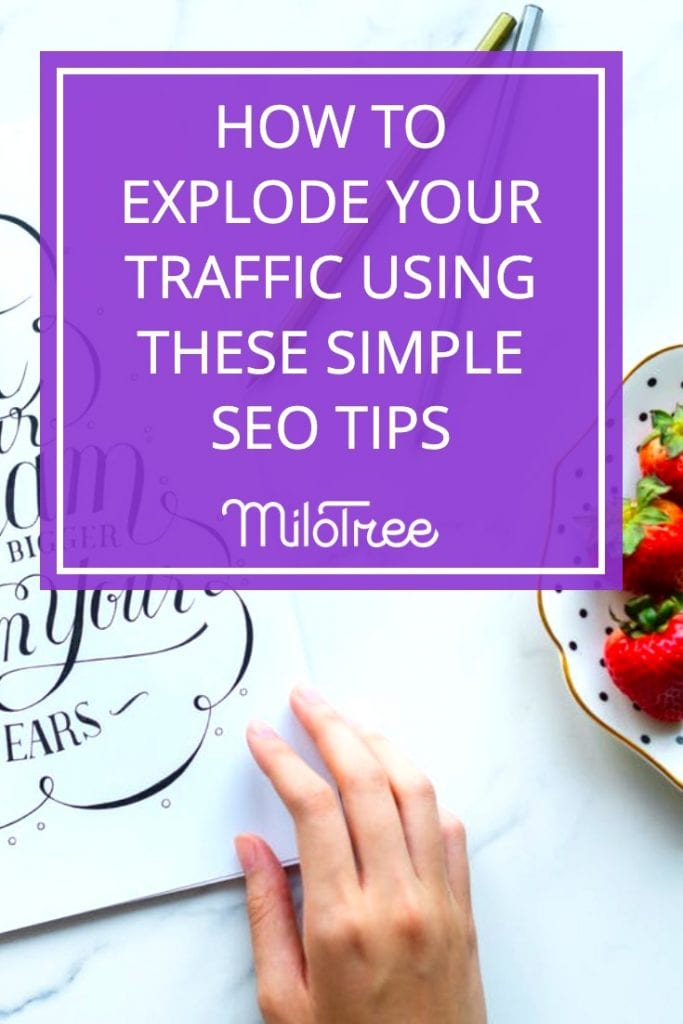How to Explode Your Traffic Using Simple SEO Tips with Jeff Hawley   Blogger Genius Podcast