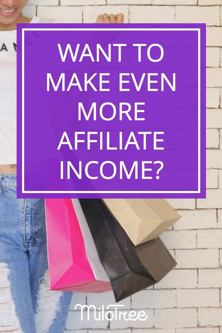 New Strategies For Making More Money with Affiliates | MiloTree.com