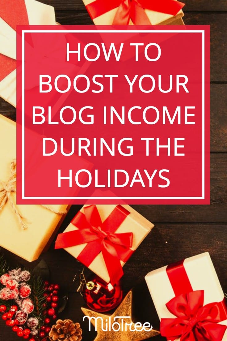 How to Boost Your Blog Income During the Holidays | The Blogger Genius Podcast