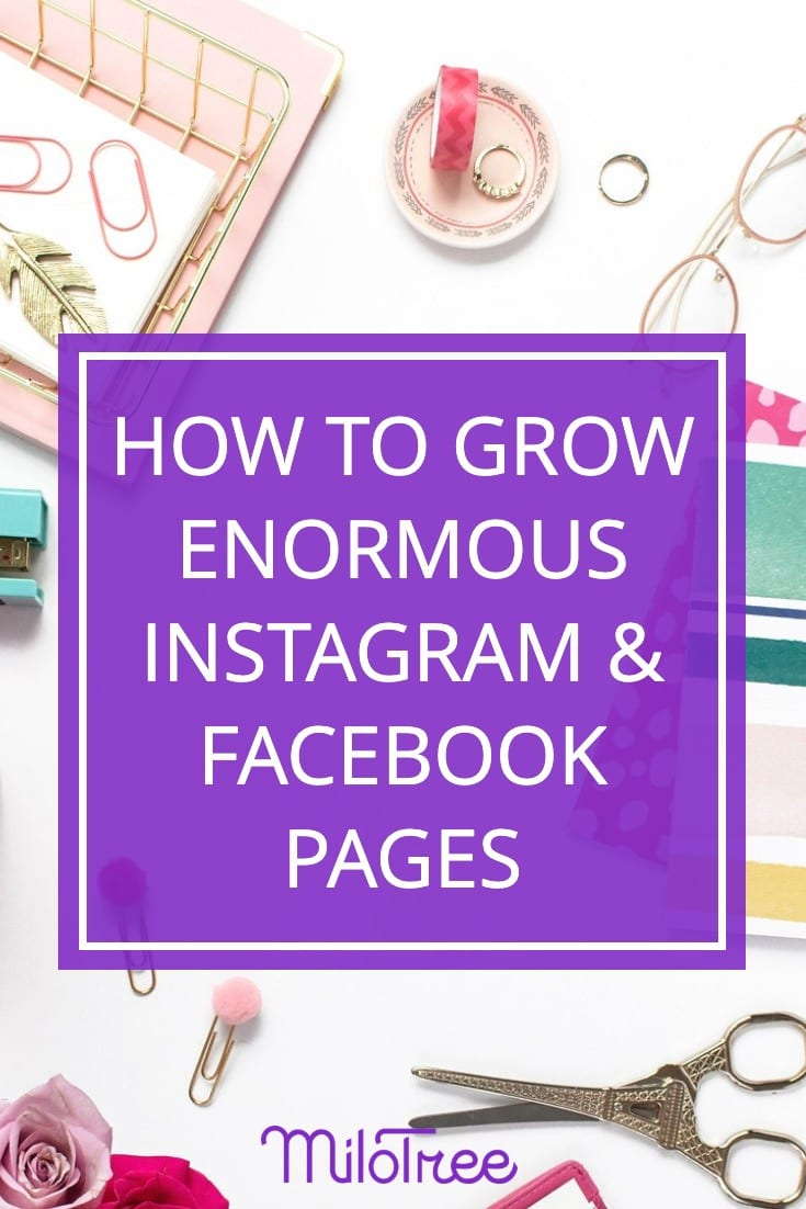 How to Grow Enormous Facebook & Instagram Pages | MiloTree.com