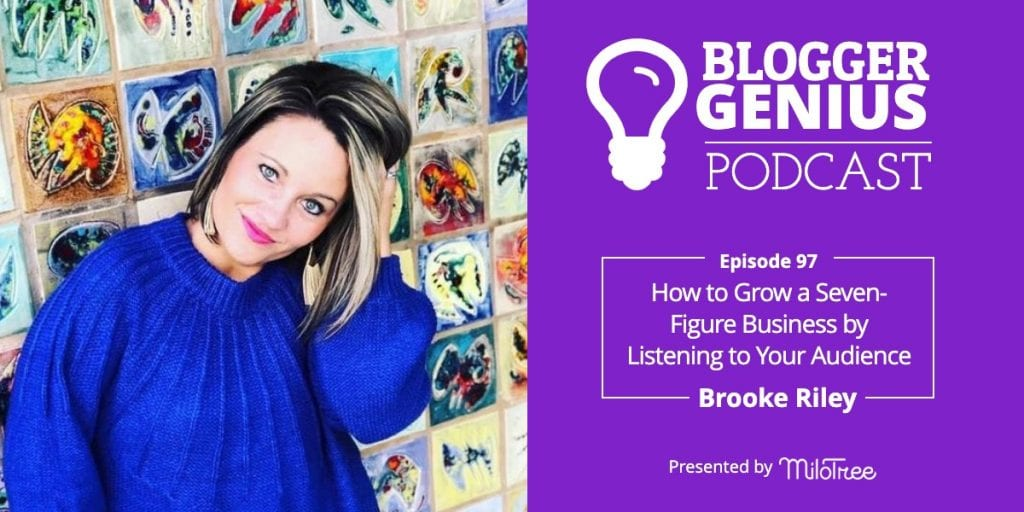 How To Grow a Seven-Figure Business by Listening to Your Audience | Blogger Genius Podcast