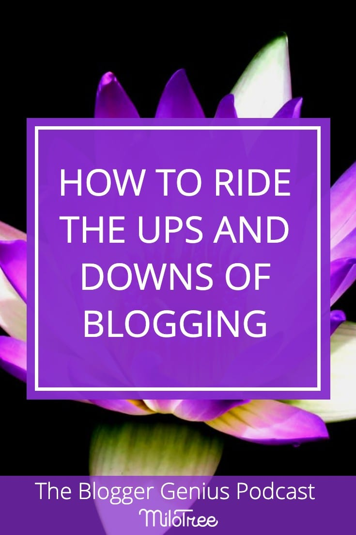 How to Ride the Ups and Downs of Blogging | MiloTree.com