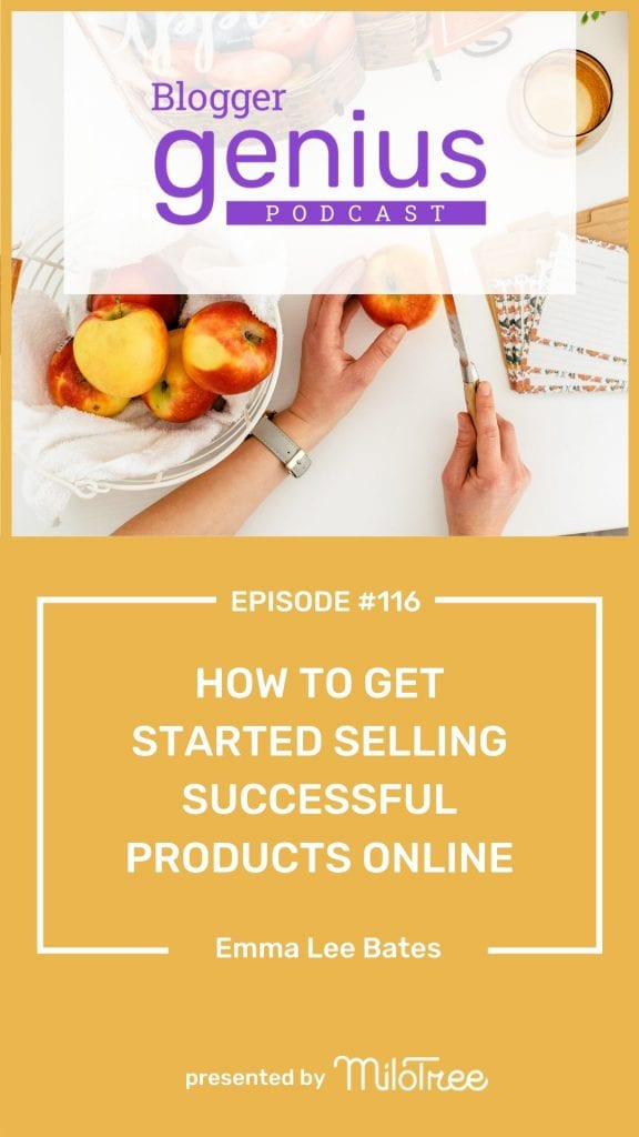 How to Get Started Selling Successful Products Online Pinterest | MiloTree.com