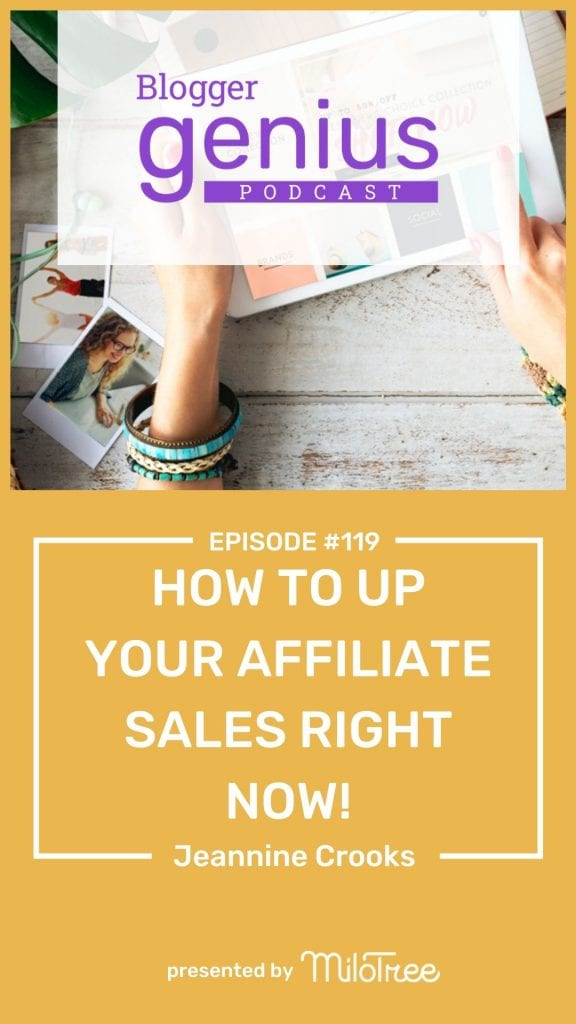 #119 How to Up Your Affiliate Sales Right Now | MiloTree.com