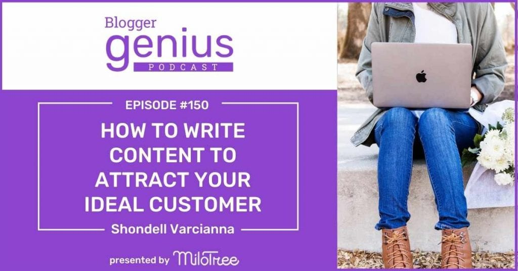 How to Write Content That Attracts Your Ideal Audience | The Blogger Genius Podcast with Jillian Leslie