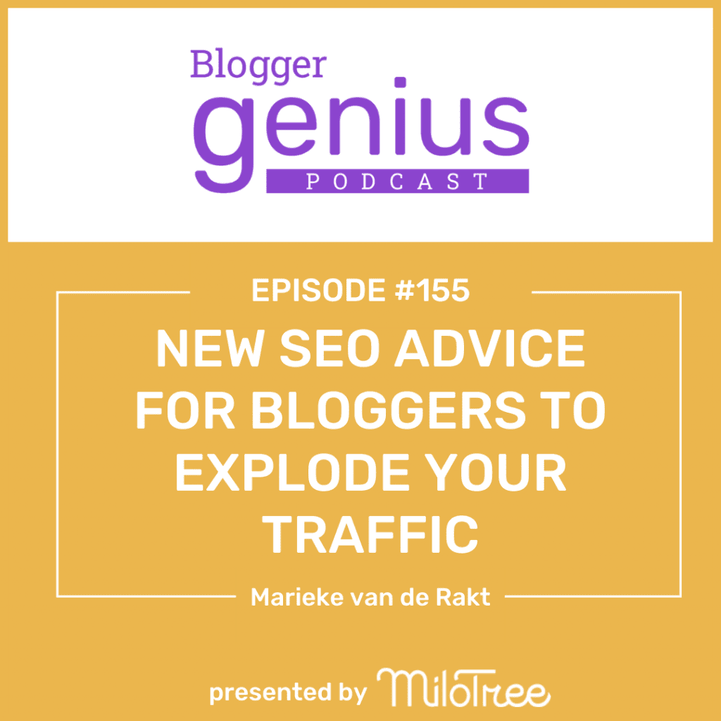 Looking for new SEO advice to explode your traffic in 2021? Click on the link in bio to listen to this episode of The Blogger Genius Podcast with Jillian Leslie to learn how!