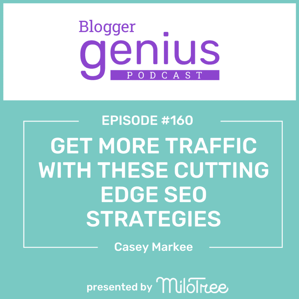 Want to hear new cutting edge SEO strategies and about the Google update in May? Listen to this episode of The Blogger Genius Podcast with Jillian Leslie.