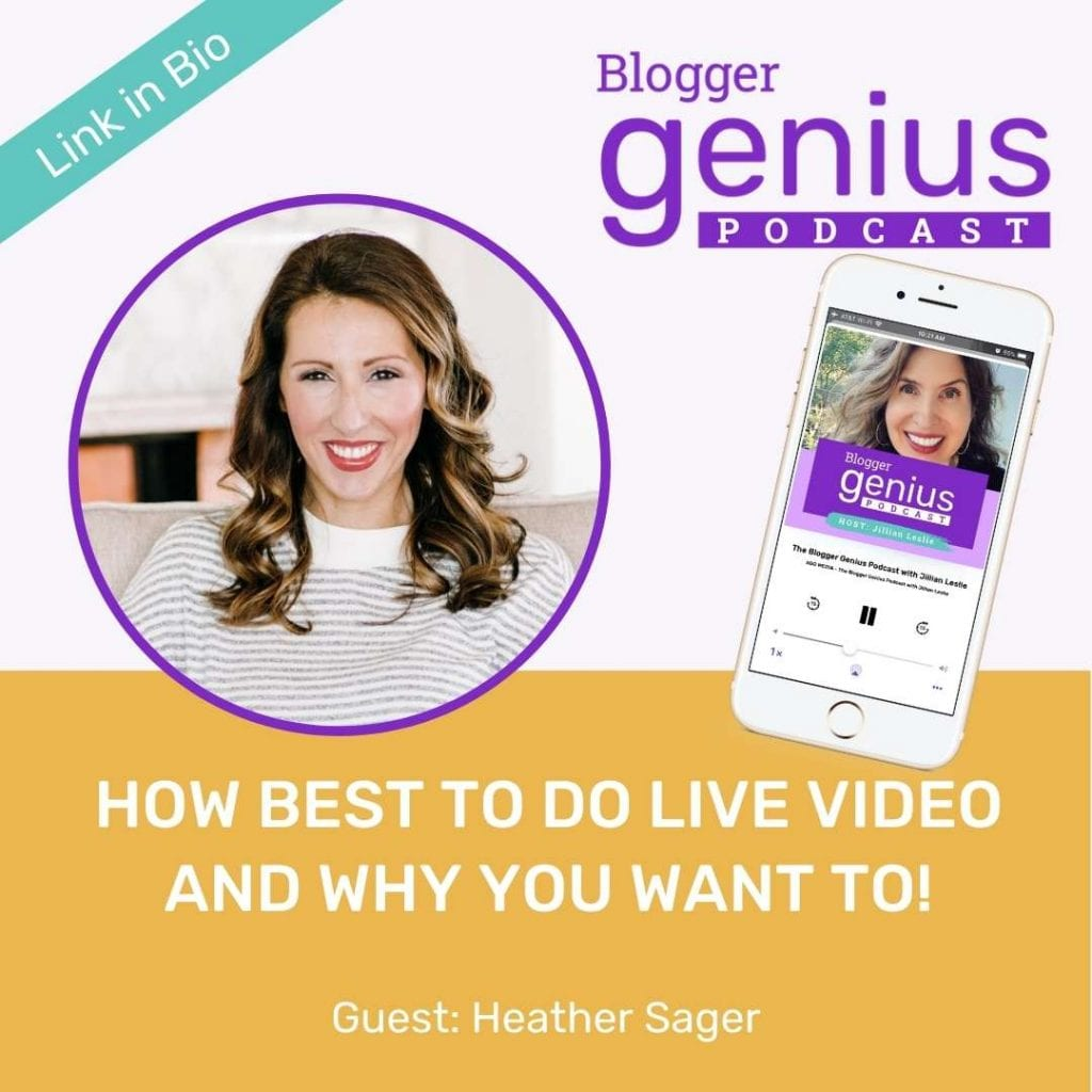 How Best to Do Live Video and Why You Must | The Blogger Genius Podcast