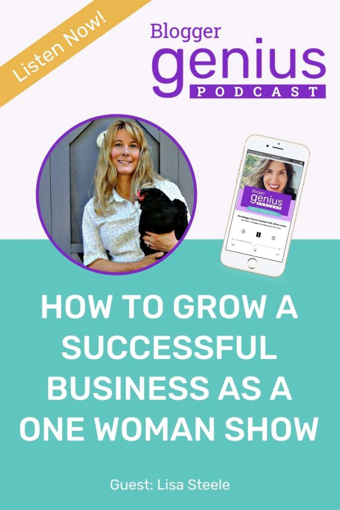 How To Grow a Successful Business as a One-Woman Show | The Blogger Genius Podcast with Jillian Leslie